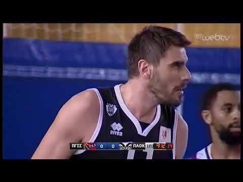 Basket League 2019-2020: ΠΑΝΙΩΝΙΟΣ – ΠΑΟΚ   30/11/2019   ΕΡΤ