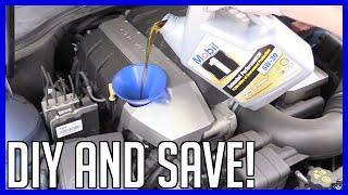 Oil and Filter Chevrolet Camaro 6.2L