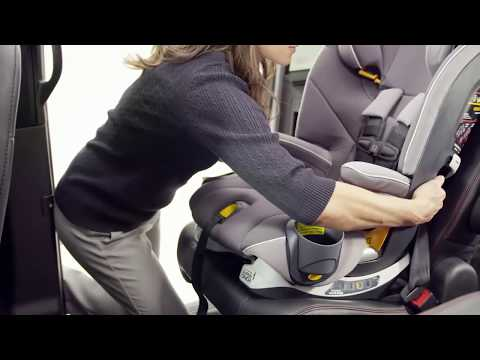 Chicco MyFit Harness+Booster - Installing with a seatbelt