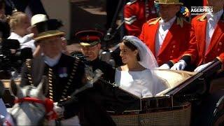 NUNTĂ REGALĂ Prinţul Harry şi Meghan Markle au fost declaraţi soţ şi soţie