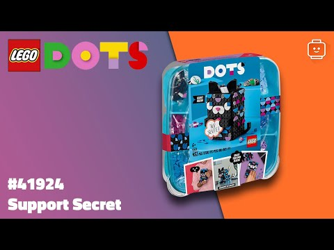 Vidéo LEGO Dots 41924 : Support secret