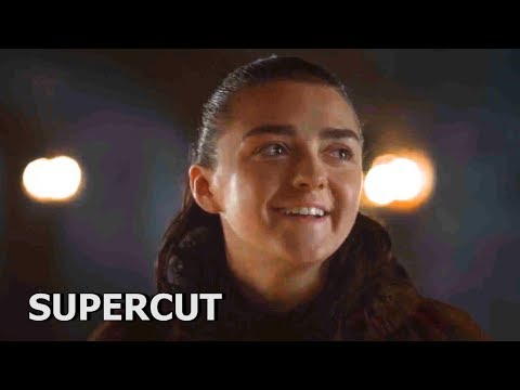 GoT SUPERCUT: Arya's Best Moments