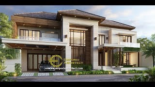 Video Mr. Anthon Modern House 2 Floors Design - Jakarta