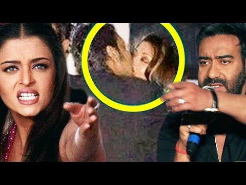 Ajay Devgn And Aishwaya Rai GET Too Close In Public