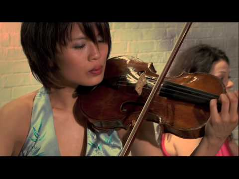 Lynn Kuo, violin; Marianna Humetska, piano: Debussy Sonata for violin and piano, I. Allegro vivo