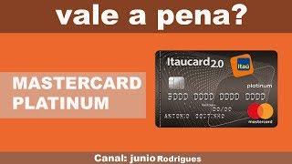 Vale a pena cartão Itaucard 2.0 platinum?