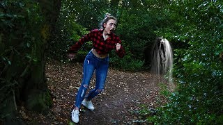 I Spent The Night in a HAUNTED FOREST & You wont BELIEVE what I saw... (REAL GHOST CAUGHT ON CAMERA)