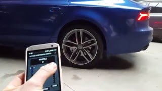 Audi A7 4G WiFi gateway on the active suspension