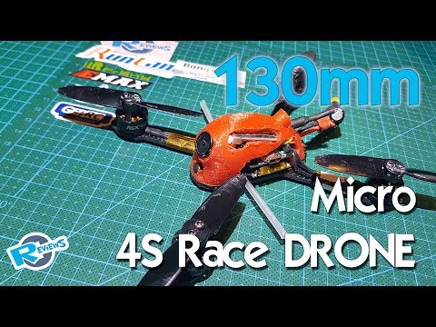 130mm frame - 4S with 28A ESC, MONSTER racer