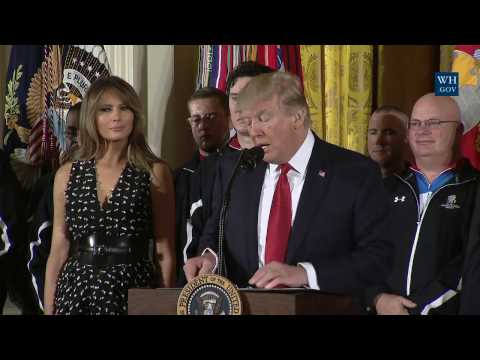 President Trump Participates in the Wounded Warrior Project Soldier Ride