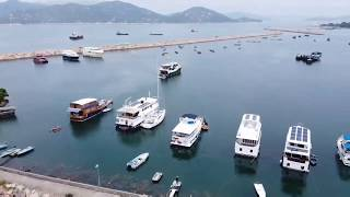 Hong Kong in pieces - Sai Wan, Cheung Chau (西灣,長洲) #dji #mavic mini #fpv #drone #travel #scenery