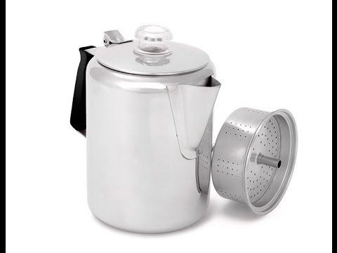 Cafetera 3 Tazas Stovetop Acero Inox 443 ml GSI.