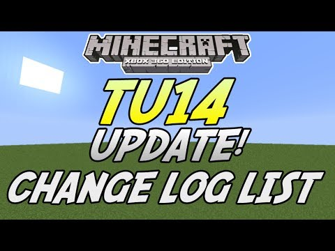 Minecraft Xbox 360 Title Update 14\