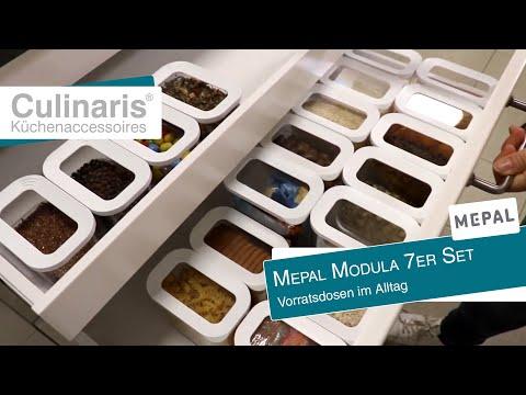 Culinaris zeigt: Mepal Modula 7er Set - Vorratsdosen im Alltag