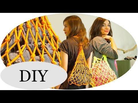 UPCYCLING-Ideen: T-Shirt Bag DIY // Netz-Turnbeutel mit Kim Lianne Pt.2