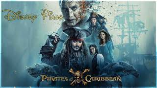 """Disney Piano - Pirates Of The Caribbean """"He's a Pirate"""""""