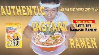 Discover Igarashi Seimen Instant Ramen's secret recipe as told by a ramen maestro