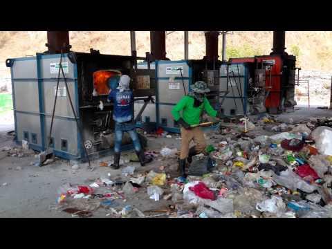 Dây chuyền xử lý rác thải sinh hoạt bằng lò đốt công nghệ NFI-05 P2
