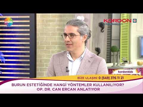 Can Ercan - Burun Estetiği Yöntemleri - Show Tv Kendine İyi Bak