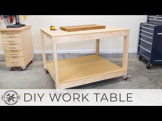 DIY Workbench / Work Table | How to Build