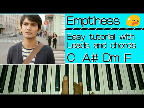 Gajendra Verma - Tune Mere Jaana Kabhi Nahi Jaana - Easy Piano Tutorial I Emptiness | Gajendra Verma