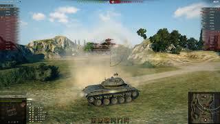 Т49 легкий танк | Затащил в последнюю секунду | T49 ворлд оф танкс