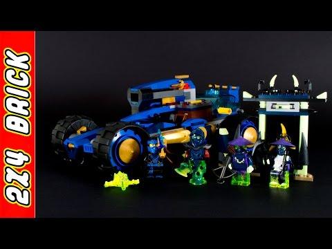 Vidéo LEGO Ninjago 70731 : Le buggy lance-missiles de Jay