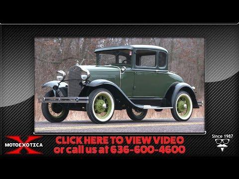 Video of '31 Model A - Q544