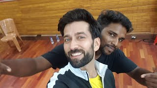 Nakul meheta deva shree ganesha song  choreographers harshall kamat assist by ajay sakpal
