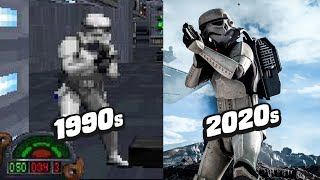 The Evolution Of Star Wars Games by GameSpot