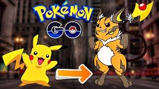 Raichu  - (Pokémon) - Pokemon Go / Покемон Го ► Эволюция покемона Pikachu ◓ Raichu ► #55