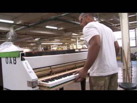 The making of a Steinway piano, narrated by John Steinway himself
