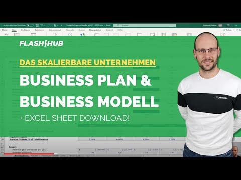 , title : 'Die skalierbare Agentur als Business Plan -  Business Modell Excel Sheet erklärt