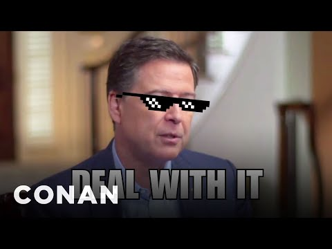 James Comey's Dramatic ABC Interview  - CONAN on TBS