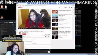 imaqtpie reacting to imaqtpie - tage