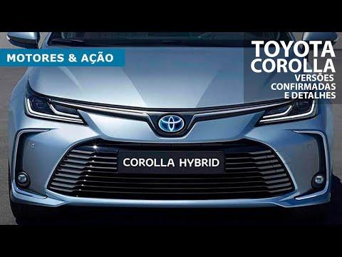 Novo Corolla 2020 | Toyota | Hybrid | Versões confirmadas e detalhes | motoreseacao