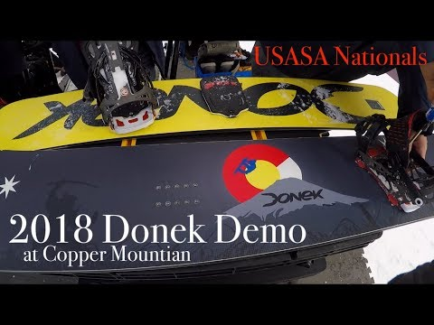 2018 Donek Demo at Copper – I'm getting one!