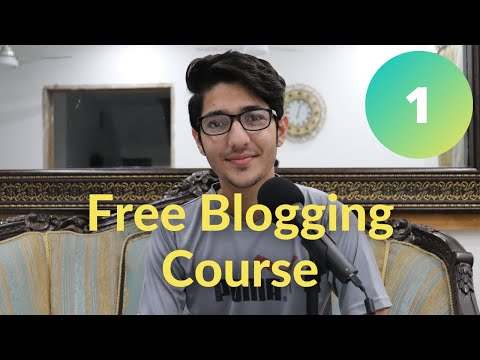 What is Blogging? Blogging Course Video #1
