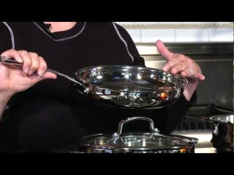 Cuisinart 13-Pc Set Contour™ Stainless Cookware (44-13) Demo Video