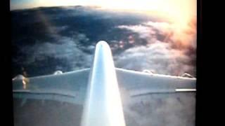 preview picture of video 'A380 Air France - Atterrisage à Paris Roissy'