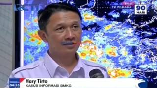 BMKG Ingatkan Waspada Cuaca Buruk