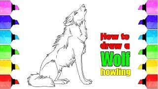How To Draw A Cartoon Baby Wolf म फ त ऑनल इन