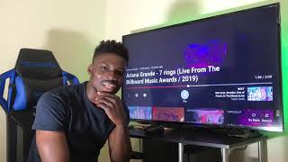 Ariana Grande - 7 Rings (Live From The Billboard Music Awards 2019) REACTION!
