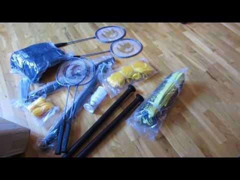 Unboxing Park & Sun Pro Badminton Set (Part 1)