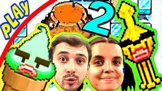 БолтушкА, ПРоХоДиМеЦ и СУПЕР Вулкан - МОРОЖЕНОЕ Ищет ФРУКТЫ! #49 Игра для Детей - Плохое Мороженое 2