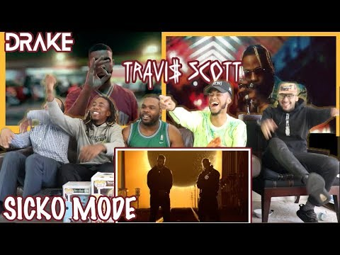Travis Scott ft Drake - Sicko Mode Official Video REACTION/REVIEW