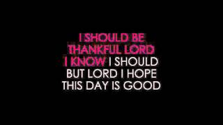 Don Williams   Lord, I Hope This Day Is Good Karaoke