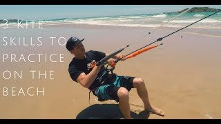 3 Kite Skills to Practice on the Beach