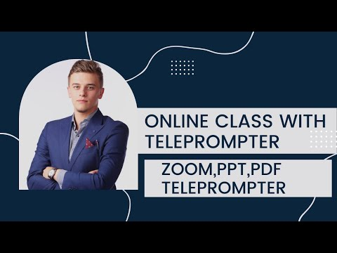 22 Inches Gts Teleprompter