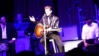 Chris Isaak 'Let Me Down Easy' in concert at The Grove of Anaheim 7-12-2018 Anaheim, California